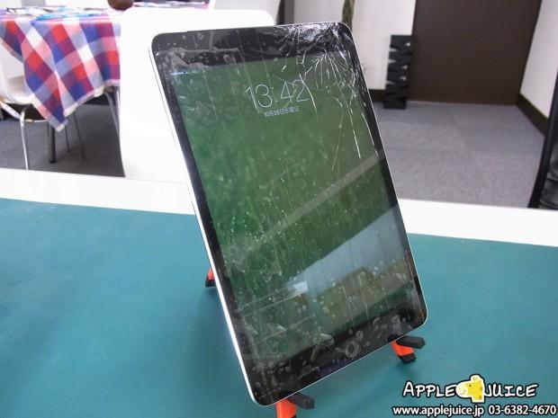 iPad mini 第3世代 ガラス割れ修理