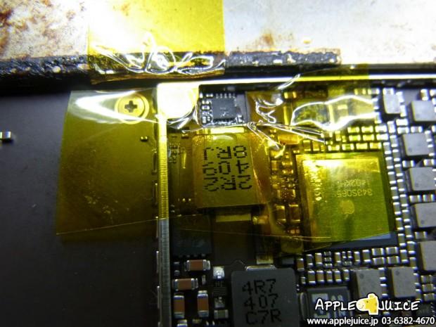 iPad mini 充電できない USB ICチップ交換基板修理