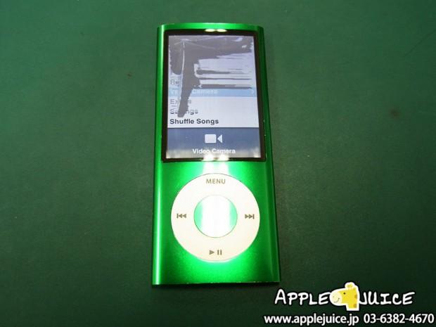 iPod nano 5世代 液晶割れ 液晶パネル交換修理