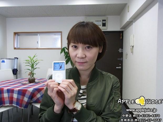 【iPodClassic】 イヤホン片側不良&バッテリー膨張 交換修理