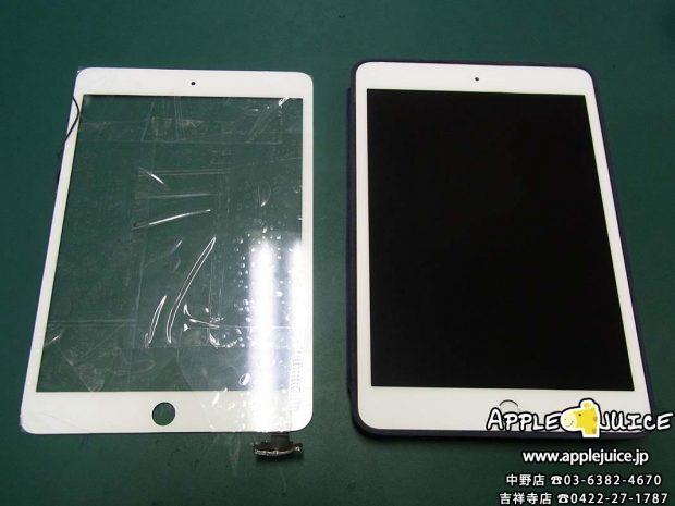 【iPad mini 3】ガラス割れ修理 中野区エリアの修理は当店にお任せ下さい!
