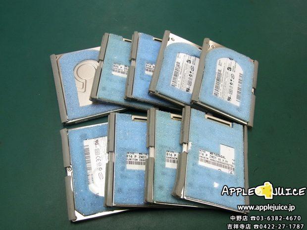 【ハードディスク故障】iPodClassicのSSD化ならおまかせ下さい!