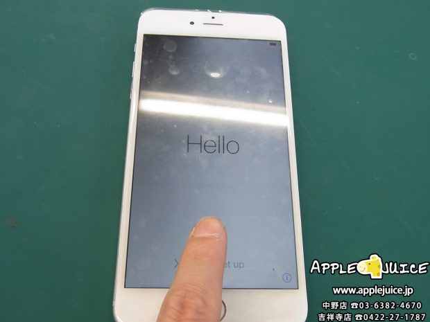 【基板修理】iPhone6 タッチ操作が出来ない ICチップ交換作業