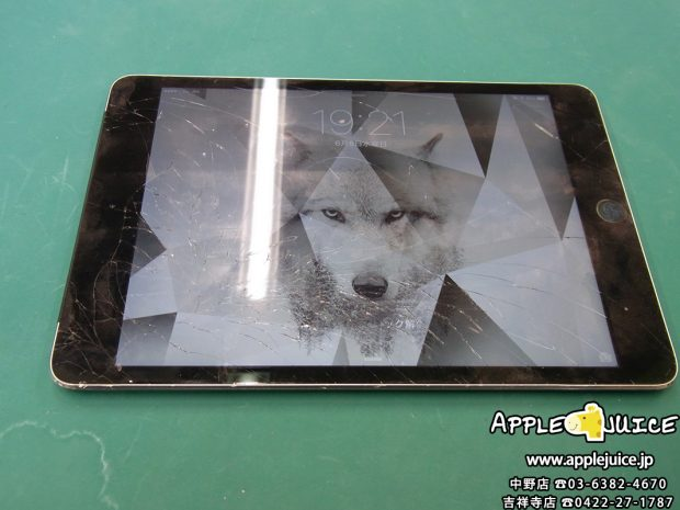 iPad mini 4世代 画面割れ