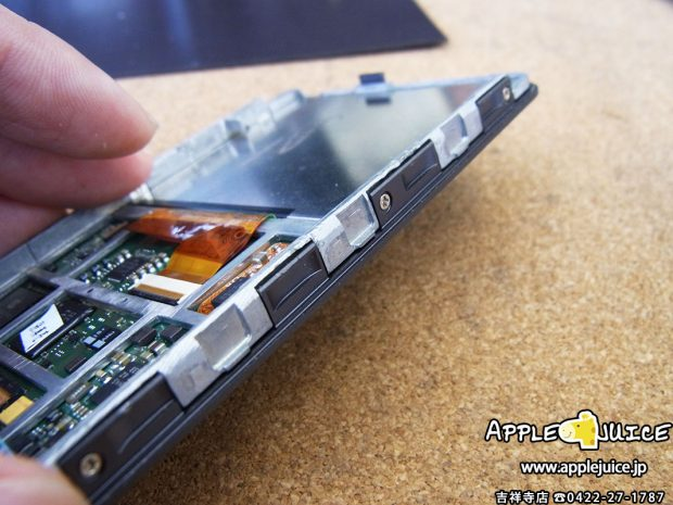 iPodClassic ドックコネクター不良修理