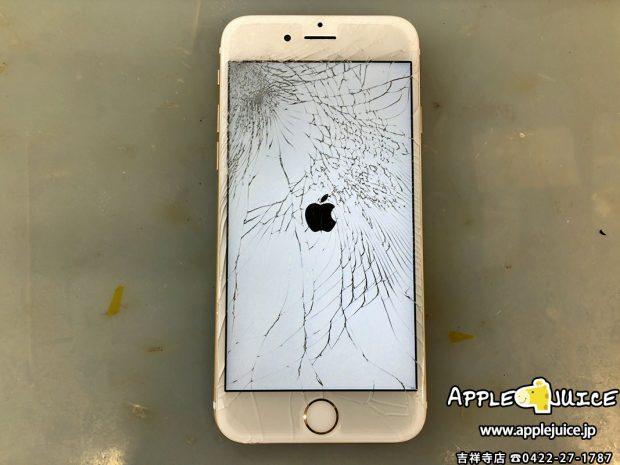 iPhone6s 画面が真っ暗 修理後