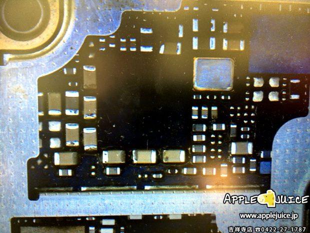 水没クリーニングをきちんとしたiPhone6sの基板