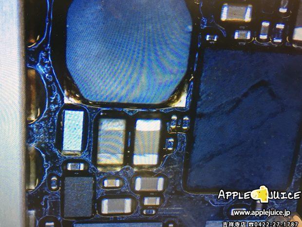 iPad Air 2でタッチ操作が出来なくなる原因のコイルとコンデンサ