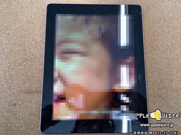 iPad4 液晶交換修理 修理後
