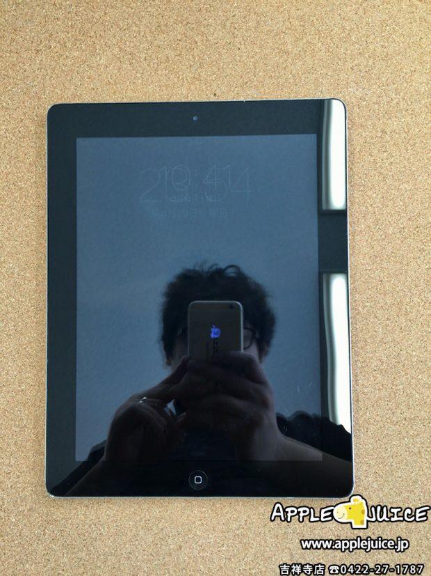 iPad2 画面割れ修理 修理後