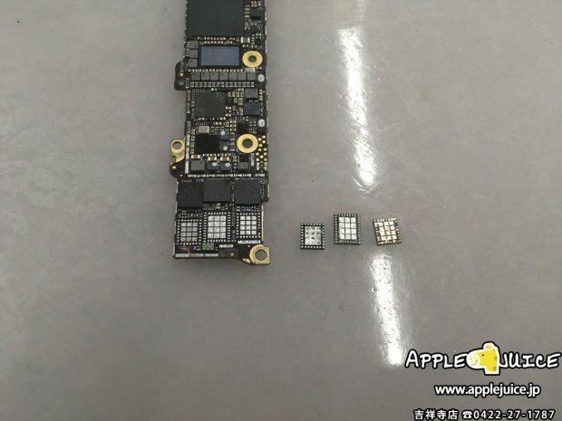 4Gアンテナ用ICチップ交換