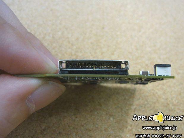iPodClassic ドックコネクタ交換 修理中