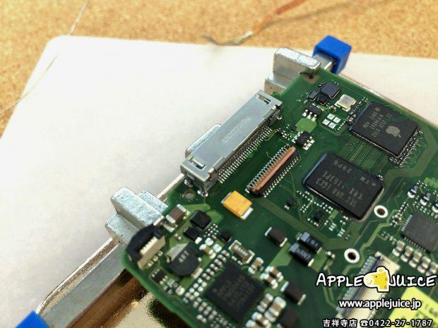 充電コネクタを交換したiPodClassic