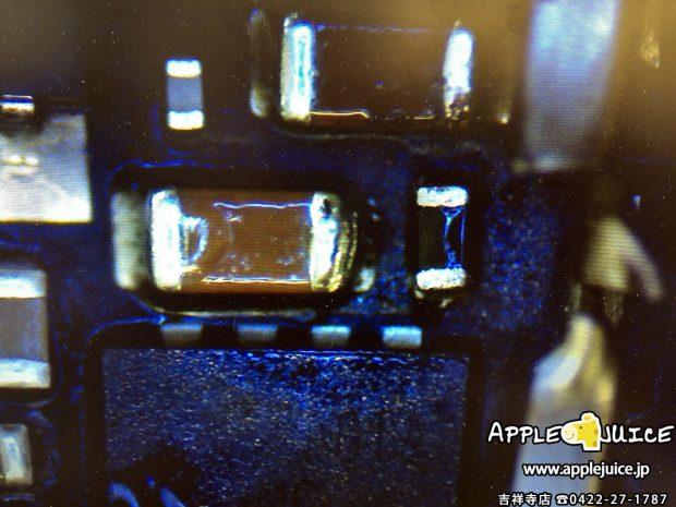 バックライトフィルターを新品に交換したiPad mini 3