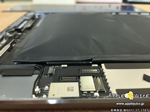 バッテリーが膨張しているiPad Air