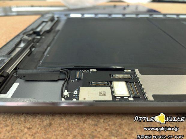 新品のバッテリーに交換をしたiPad Air