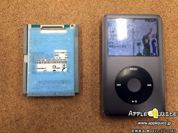 東京都世田谷区から来店でのご依頼 iPod classic 同期ができない症状 2017/02/26