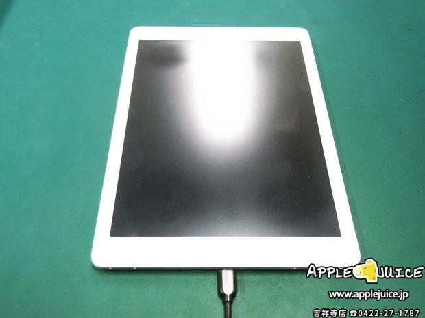 iPad Airが充電出来ない症状 ドックコネクター交換修理