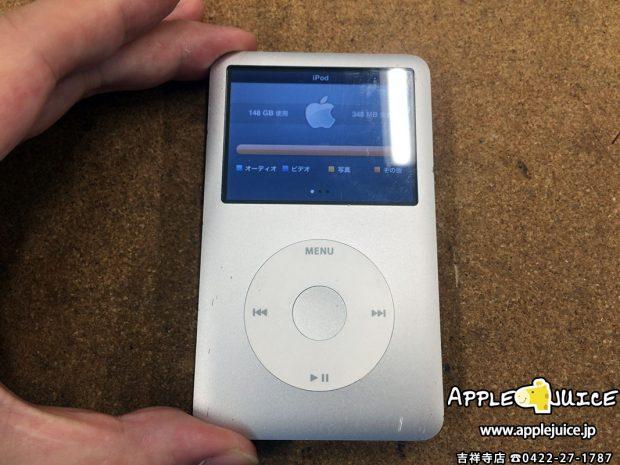 【iPodClassic修理】iTunesで上手く同期しなくなった⇒HDDをmicroSDへ交換し修理完了