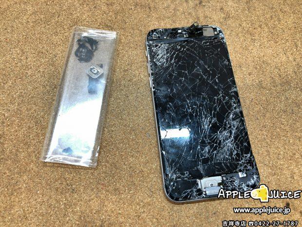 強い衝撃により起動しなくなったiPhone6 基盤修理とソフトウェア修理 にてデータ救出作業成功事案