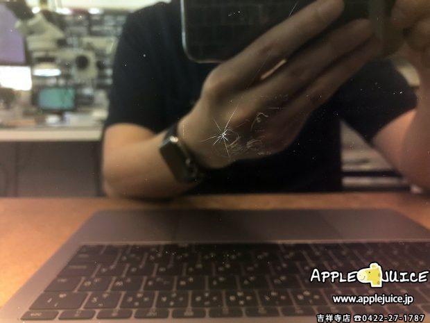 MacBookPro-A1708-液晶割れ-分解前2